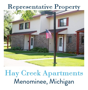 Hay Creek Apartments property