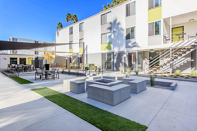 Latitude 33, Class A multifamily property, Palm Springs, California