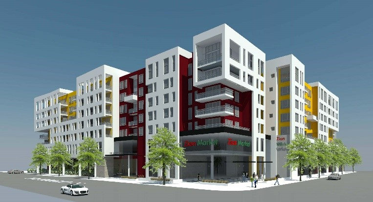 Rise Koreatown property rendition